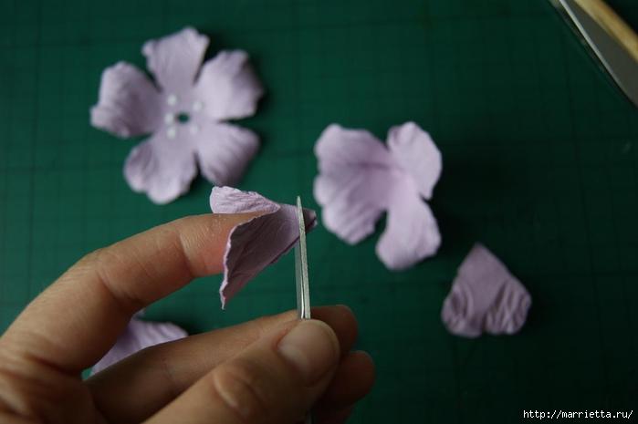Бумагопластика. Цветочки в торфяных горшочках (17) (700x465, 125Kb)