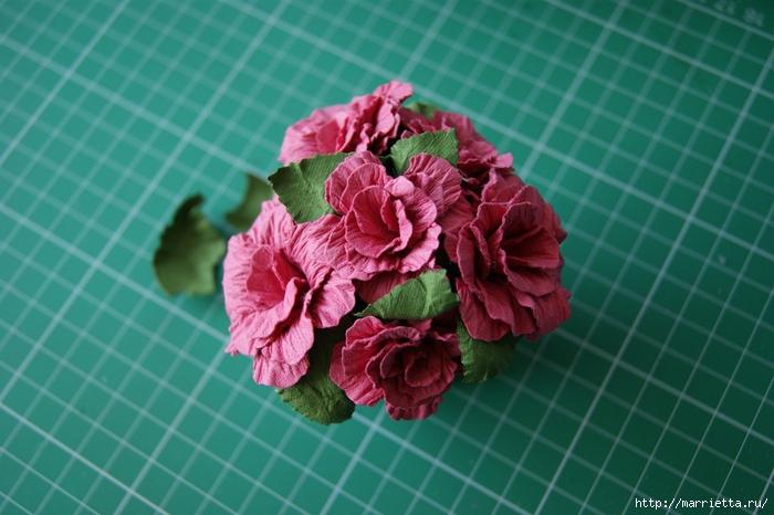 Бумагопластика. Цветочки в торфяных горшочках (48) (700x466, 238Kb)