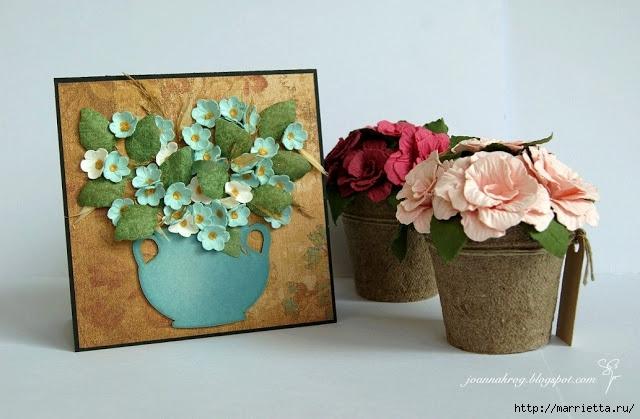 бумагопластика цветы из бумаги (13) (640x419, 164Kb)