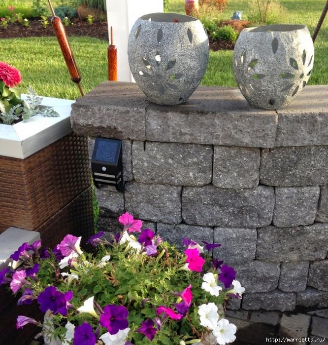 Садовые светильники из папье-маше. Мастер-класс (6) (666x700, 447Kb)