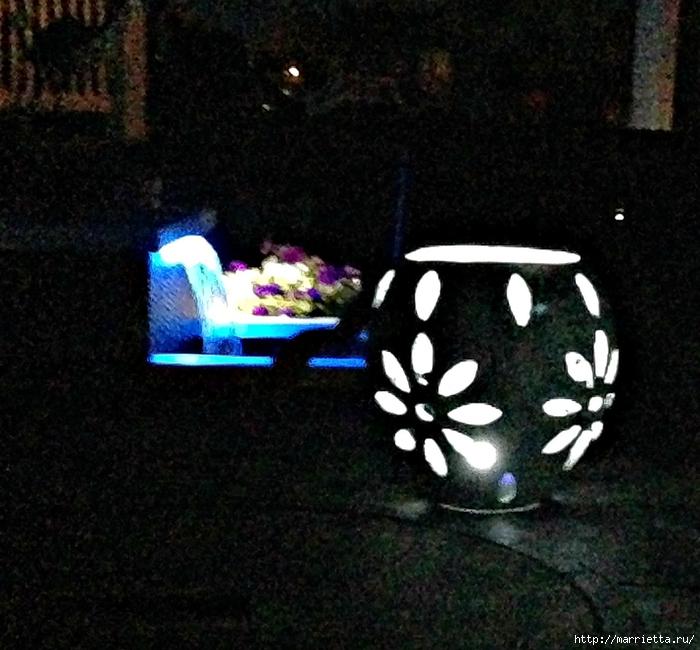 Садовые светильники из папье-маше. Мастер-класс (10) (700x650, 320Kb)
