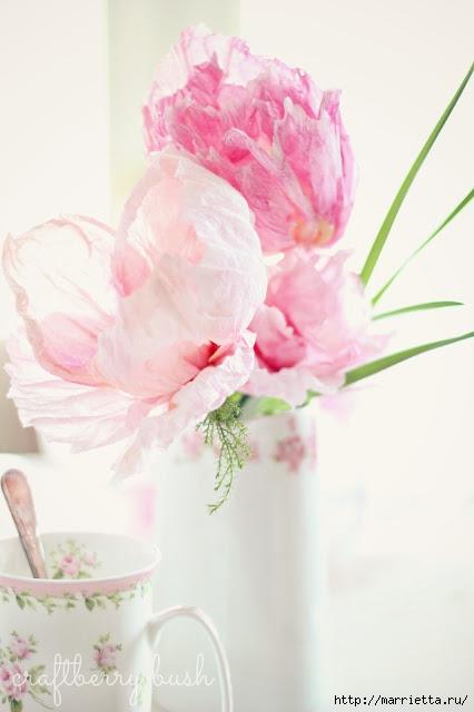 цветы из креповой бумаги (1) (426x640, 107Kb)