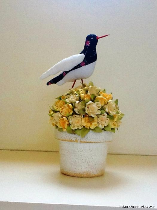 Шьем птичку. Тильда Кулик-Сорока (2) (525x700, 223Kb)