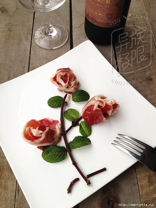 Rosas y cestas de jamón, tomate tulipanes y otras cosas interesantes (7) (525x700, 271Kb)