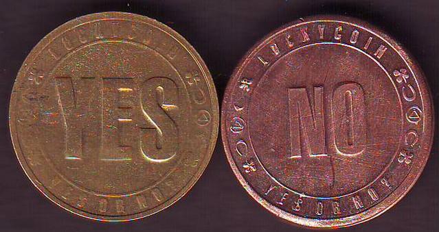Монета орел и решка ten rupees