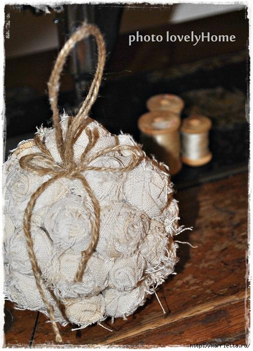 Текстильные шары из крученых розочек (7) (504x700, 305Kb)