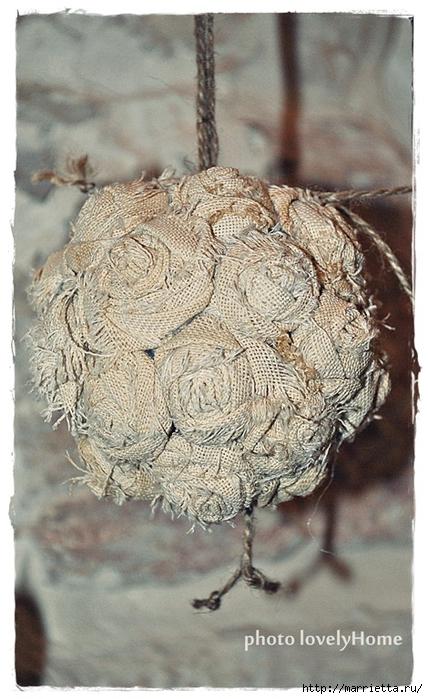 Текстильные шары из крученых розочек (11) (428x700, 259Kb)
