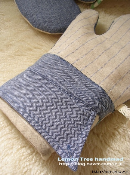 Шьем тапочки и прихватки из джинсовой рубашки (2) (432x582, 211Kb)