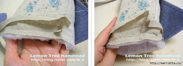 Шьем тапочки и прихватки из джинсовой рубашки (12) (700x252, 140Kb)