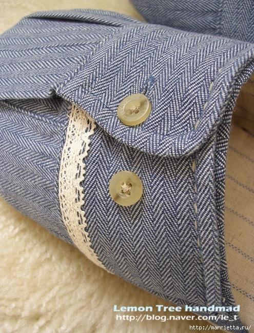 Шьем тапочки и прихватки из джинсовой рубашки (18) (495x649, 302Kb)