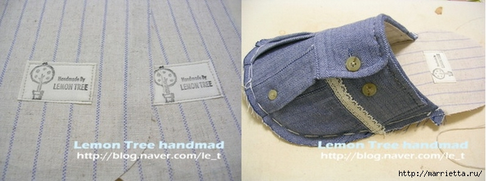 Прихватки своими руками из джинс с выкройками 59