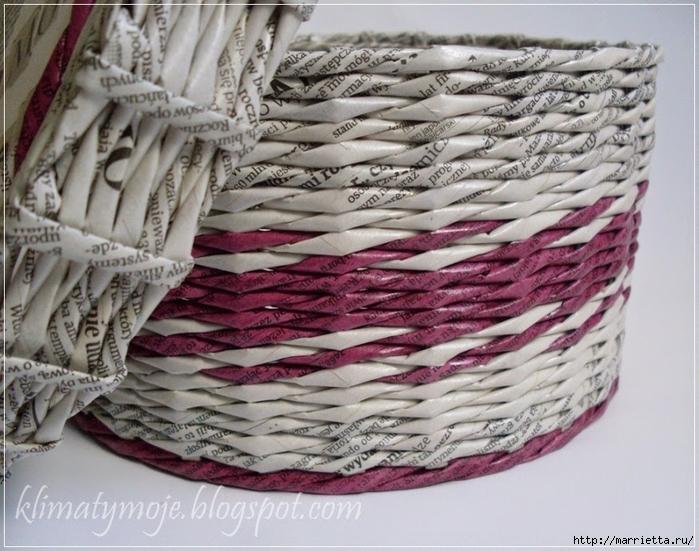 cestas de túbulos de periódicos (10) (700x551, 302Kb)