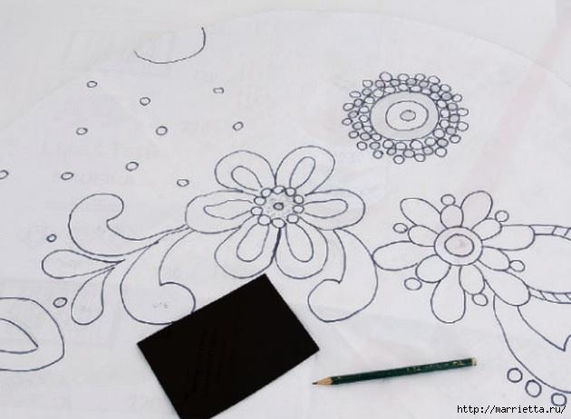 Мозаика из кафельной плитки. Идеи и мастер-классы (23) (630x463, 129Kb)
