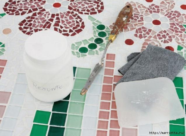 Мозаика из кафельной плитки. Идеи и мастер-классы (25) (637x467, 168Kb)