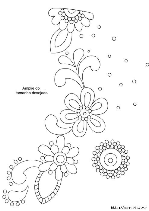 Мозаика из кафельной плитки. Идеи и мастер-классы (27) (494x700, 115Kb)