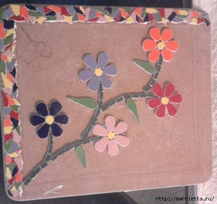 Мозаика из кафельной плитки. Идеи и мастер-классы (33) (445x418, 106Kb)