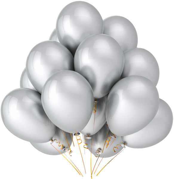 Transparent_Silver_Balloons_Clipart (583x600, 255Kb)