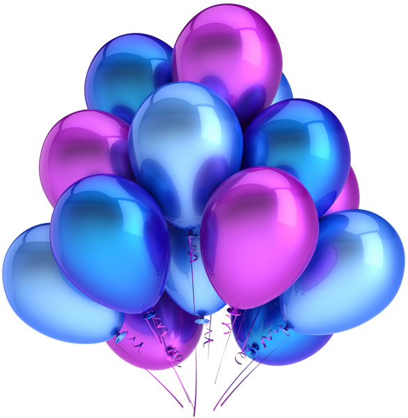 Transparent_Blue_and_Pink_Balloons_Clipart (586x600, 299Kb)