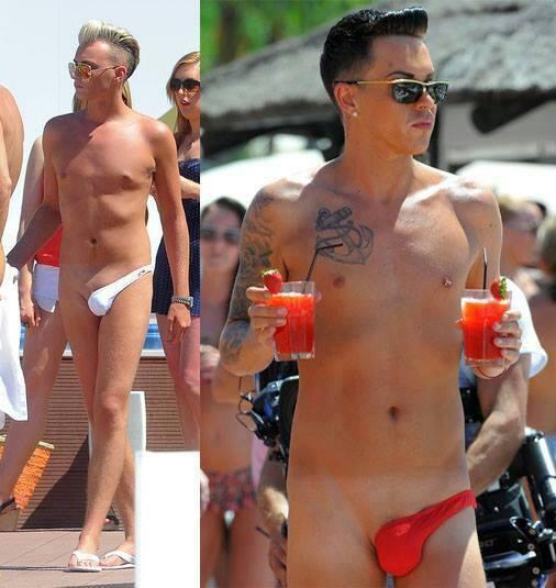 Фото парни на пляже сняли плавки 16 фотография