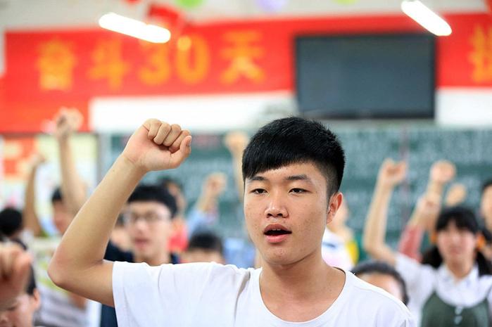 как сдают экзамены в китае (700x465, 292Kb)