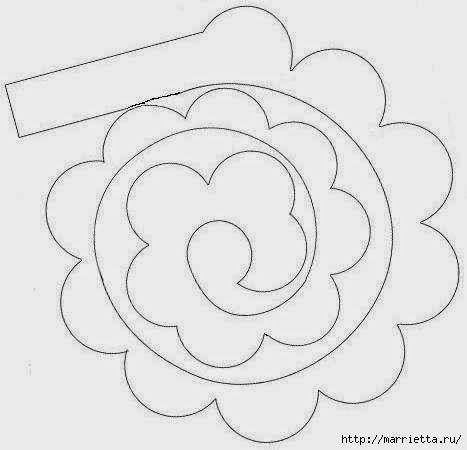 Как сделать роза из бумаги своими руками поэтапно фото