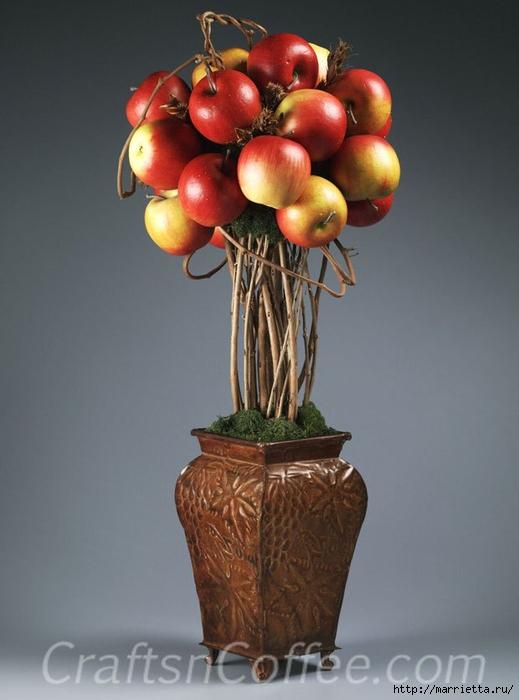 ЯБЛОКИ в интерьере. Самые красивые идеи осеннего декора (27) (519x700, 180Kb)