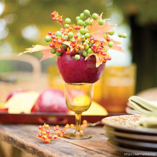 ЯБЛОКИ в интерьере. Самые красивые идеи осеннего декора (43) (600x600, 183Kb)