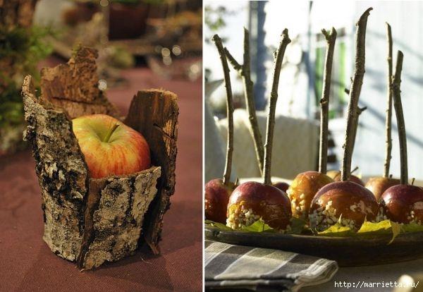 ЯБЛОКИ в интерьере. Самые красивые идеи осеннего декора (79) (600x414, 145Kb)