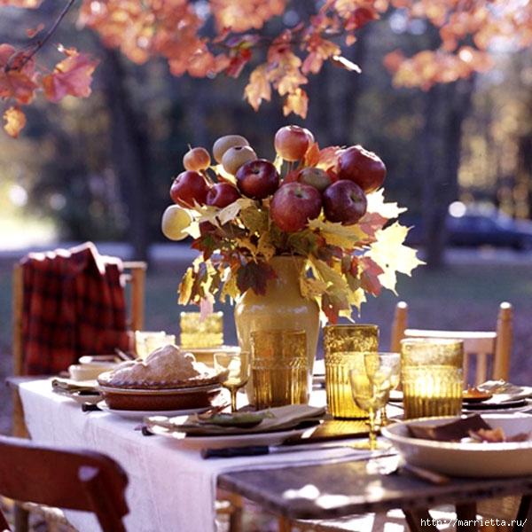ЯБЛОКИ в интерьере. Самые красивые идеи осеннего декора (84) (600x600, 225Kb)
