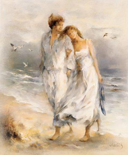 Притчи о дружбе мужчины и женщины