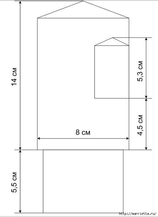 Варежки МЫШАТА. Вязание спицами для детей (11) (510x700, 48Kb)