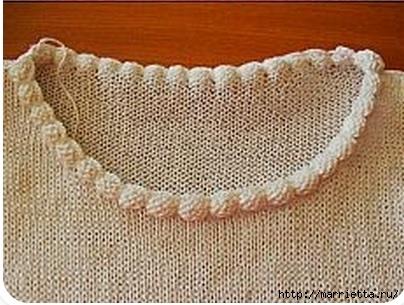 обработка горловины пуловера спицами (2) (404x305, 108Kb)