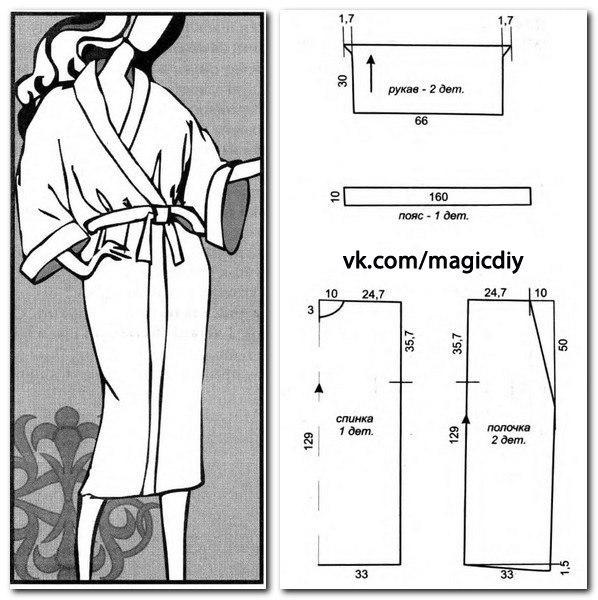 Как сшить домашнее платье своими руками без выкройки 22