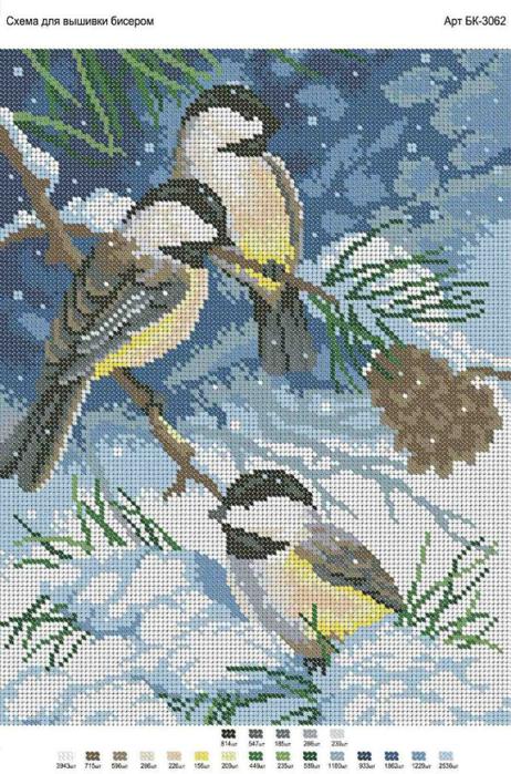 бисер снегирь (462x700, 421Kb)