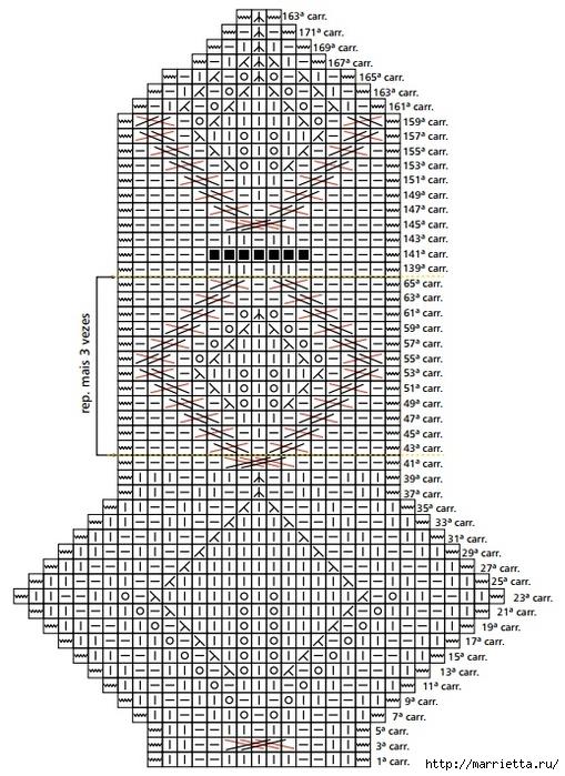Шарфик-воротник спицами (2) (509x700, 302Kb)