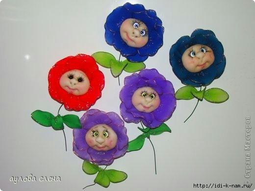 капроновые куклы, куклы из капрона, куклы из капроновых колготок, цветы из капроновых колготок, магниты на холодильник своими руками, как сделать магниты на холодильник своими руками, Хьюго Пьюго рукоделие, как сделать лицо капроновой кукле,
