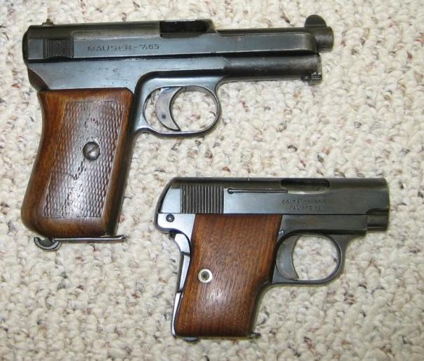 11 Маузер 1914 и Браунинг 1906 (606x516, 67Kb)