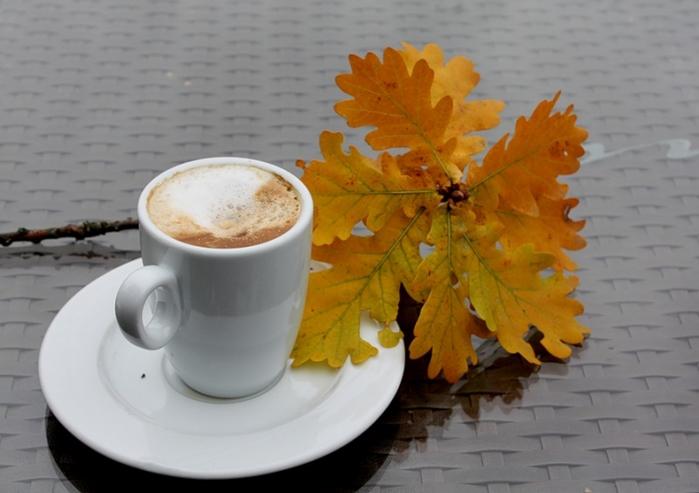 осень кофе (700x493, 273Kb)