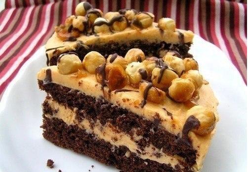 рецепты карамельный крем для тортов с фото