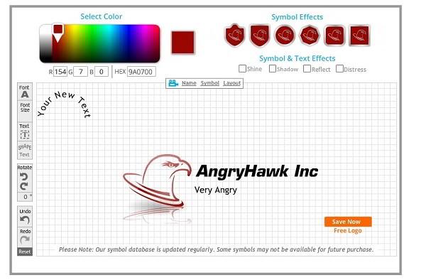 сделать логотип онлайн бесплатно: