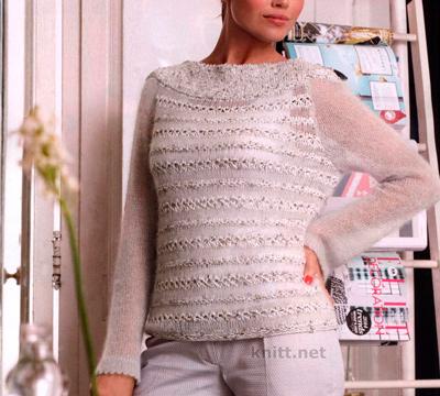 azhurnyj-pulover-iz-moxera-s-shelkom-i-lyureksa (400x360, 82Kb)
