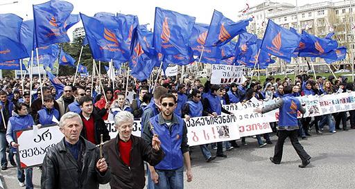 Хроники грузинской революции
