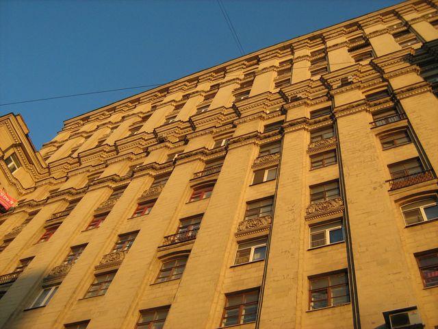 С фасада