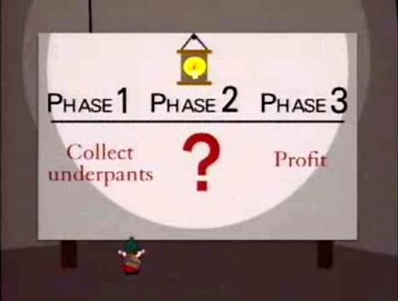 План гномиков