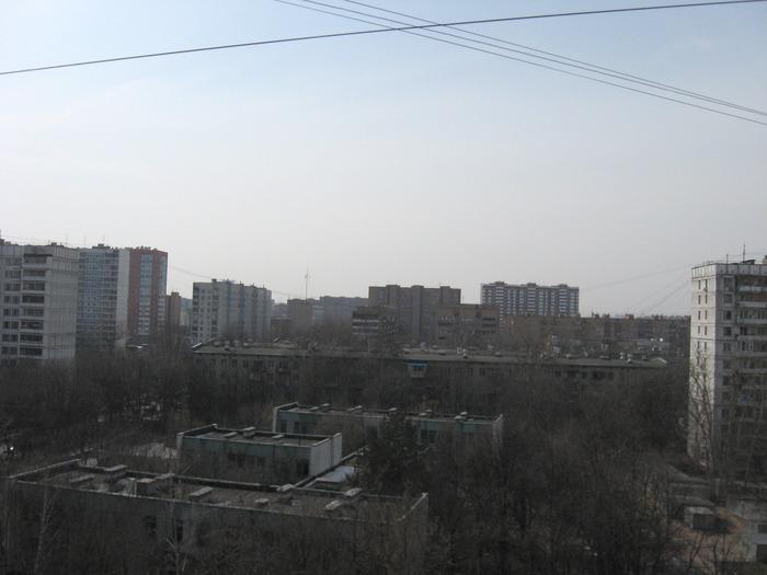 вид с 9 этажа
