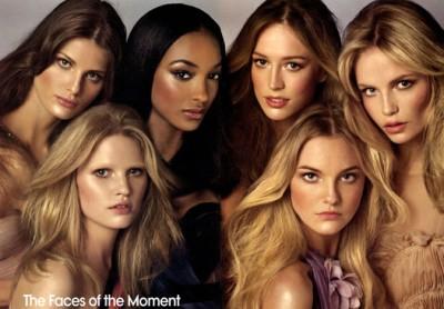 Модели всех времен в свежем Vogue