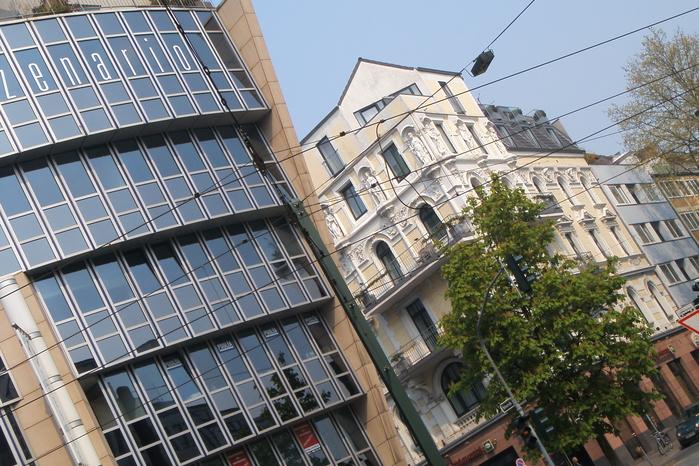 Дюссельдорф — город полетов артистической, прежде всего архитектурной мысли.