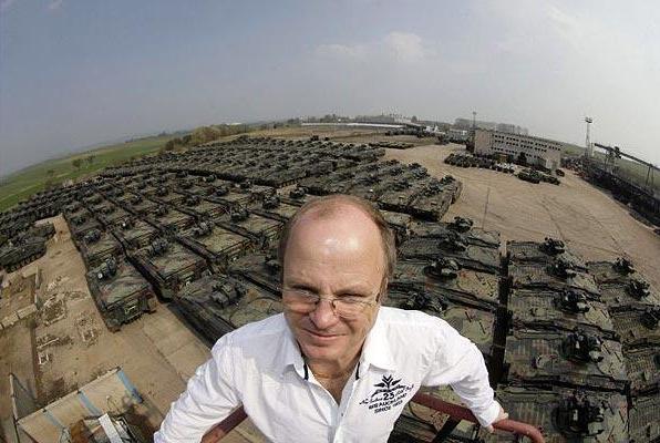 Демонтаж танков