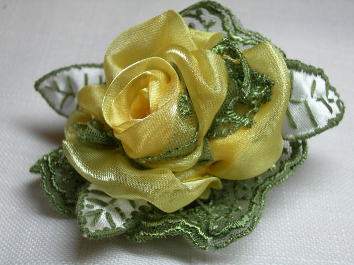 ribbon and silk flower patterns