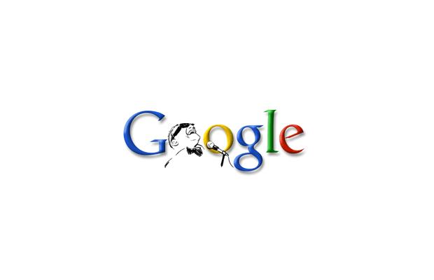 Логотип Google из точек и тире